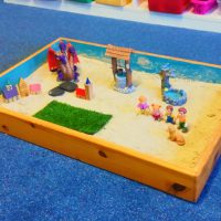 Play sand for play therapy